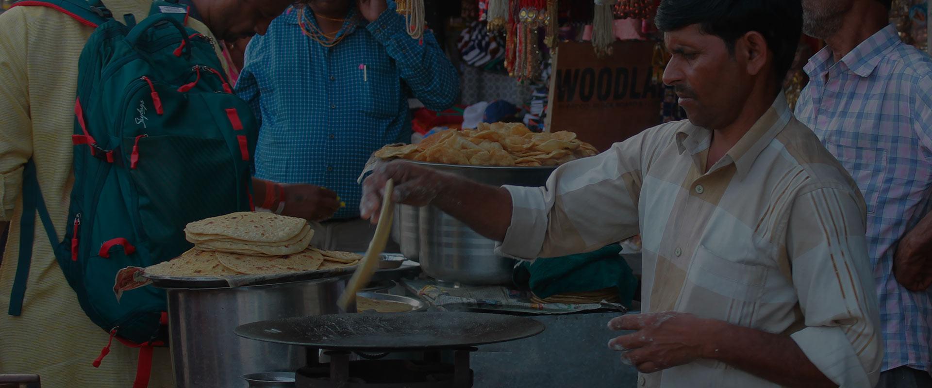 Street Food Experience - Indoverse, Varanasi